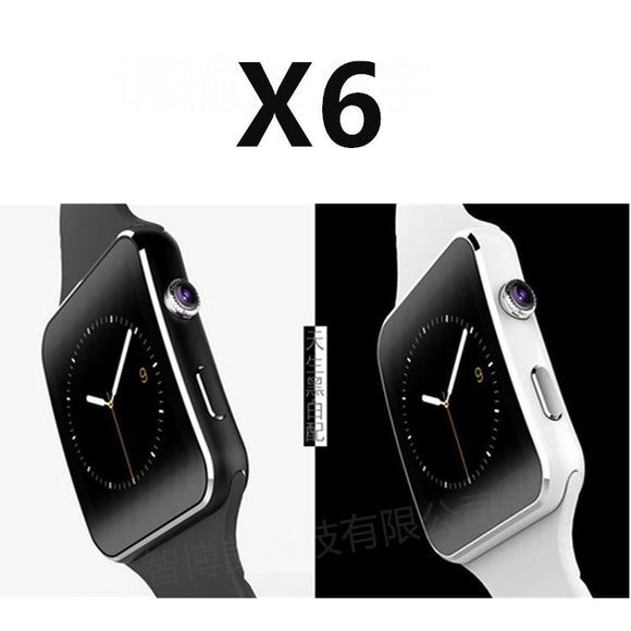 X6 smart card watch phone through Bluetooth pedometer CE ROHS certification, the Internet, smart ph