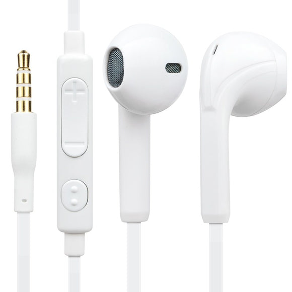 NCC subwoofer computer Apple phone universal wire ear sport earbud headset with wheat NC-103