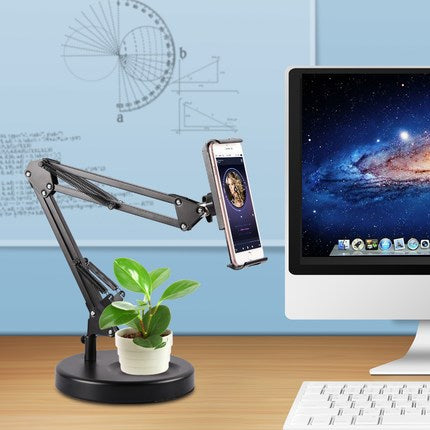 Lazy phone live bracket tablet desktop shelf creative ipad universal mobile phone stand watch movie