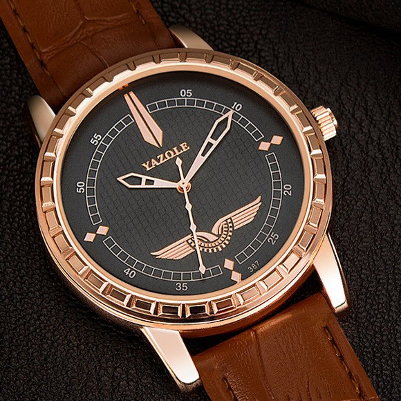 Quartz watch large dial watch brand watch Europe and the United States quartz watch business men&#3