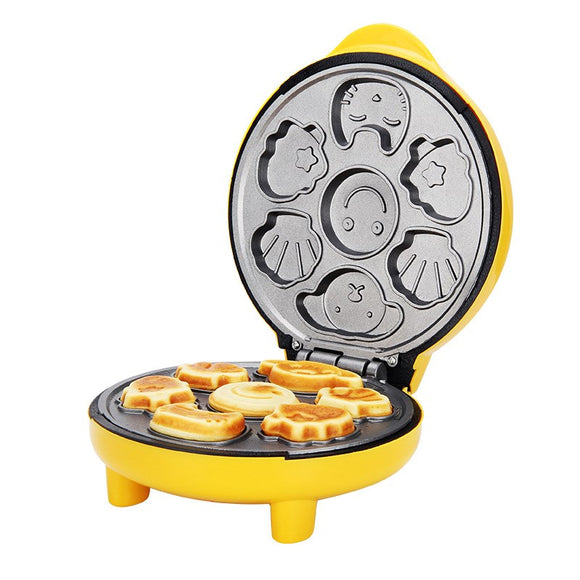 Master Cook automatic cake machine cartoon mini children's bread machine double-sided heating b