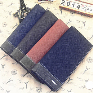 Men's long creative wallet wallet Korean new wallet purse clutch