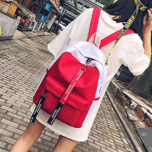 Korean students schoolbags Korean school bag ulzzang Haragang personalized backpack hit the trend o