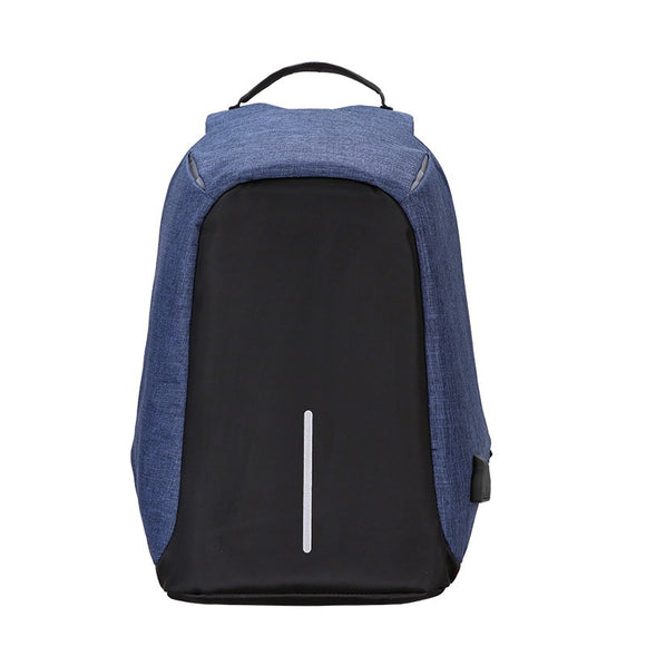 Anti-theft travel backpack male large-capacity business computer backpack rechargeable shoulder bag