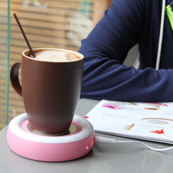 Winter USB warm rainbow insulation plate Coaster baby warm warm baby portable insulation tray gifts