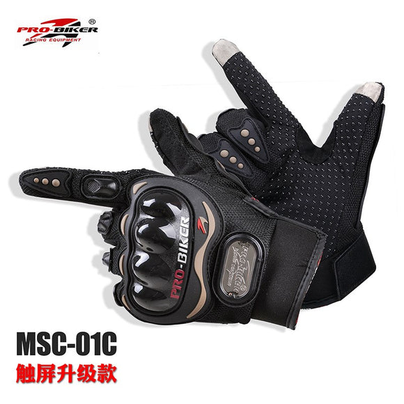 Off-road motorcycle gloves outdoor riding gloves bicycle racing touch-screen gloves MCS01C touch sc