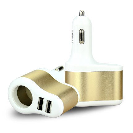 Cigarette lighter car charger 3.1A Tyrant gold car charger cigarette lighter car charger