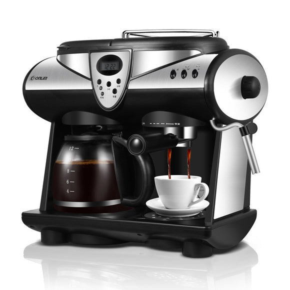 Donlim / Dongling DL-KF7001 Italian-American coffee machine commercial household automatic steam fr