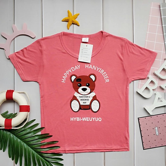 Fashion cute children's clothing children's clothing T-shirt short-sleeved super nice