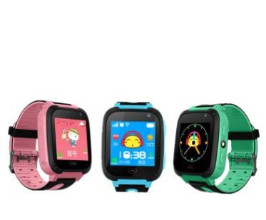 4th generation children's smart watch phone positioning phone watch phone new photo touch scree