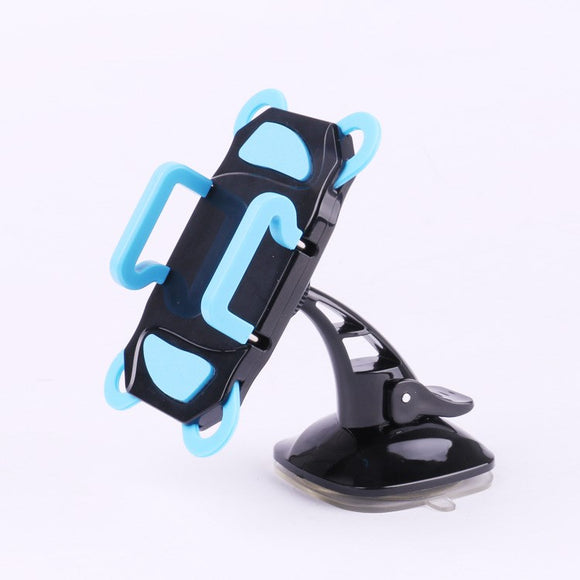 New with sticky snap-on suction cup mobile phone holder instrument panel / windshield mobile phone