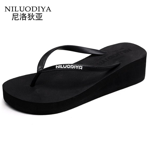 cd0c429591029f 2017 new women s flip flops summer thick bottom with flip-type fashion  outside wear cool