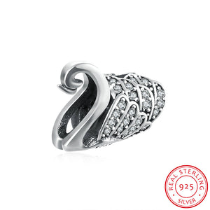 Europe and the United States popular jewelry 925 sterling silver diamond series - Swan accessories