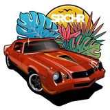 Low-Rider, Hot-Rod & Classic Car Stickers