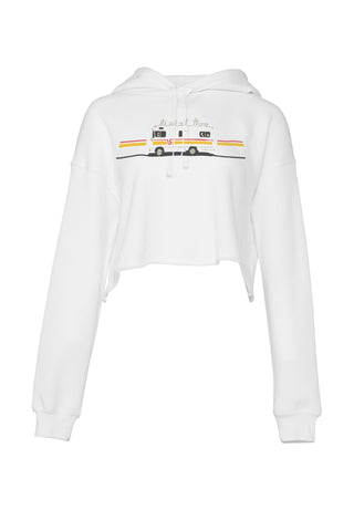 Out There Crop Hoodie