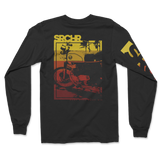 Two Wheel Sunset Long Sleeve Tee