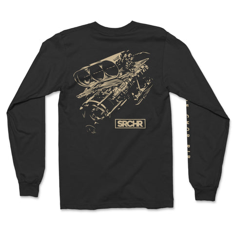 Supercharged Long Sleeve Tee