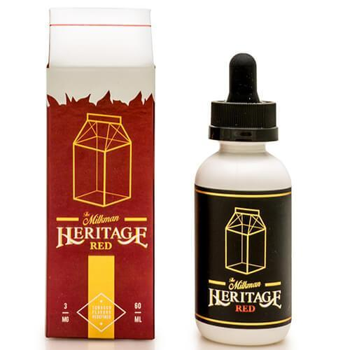 The Milkman Heritage eLiquids - Heritage Red
