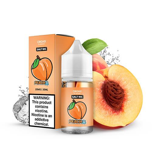Orgnx Eliquids SALT - Peach Ice