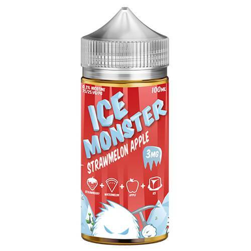 Jam Monster Ice eJuice - Strawmelon Apple