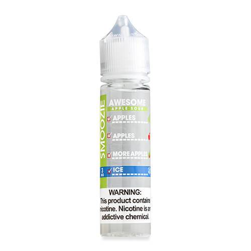 Smoozie Premium E-Liquid - Awesome Apple Sour ICE