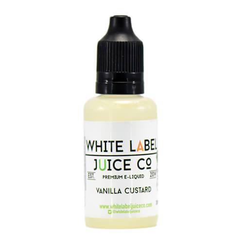 White Label Juice Co - Vanilla Custard