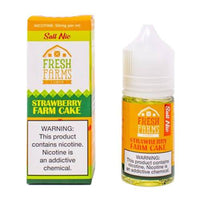Fresh Farms E-Liquid - Strawberry Farm Cake SALT