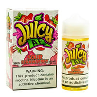 Juicy Af E-Juice - Sour Strawberry