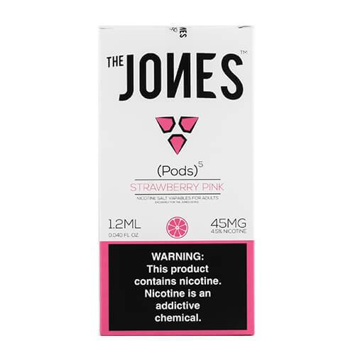The Jones - Compatible Flavor Pods - Strawberry Pink (5 Pack)