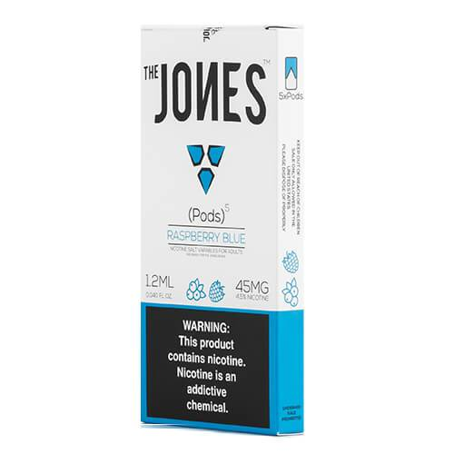 The Jones - Compatible Flavor Pods - Raspberry Blue (5 Pack)