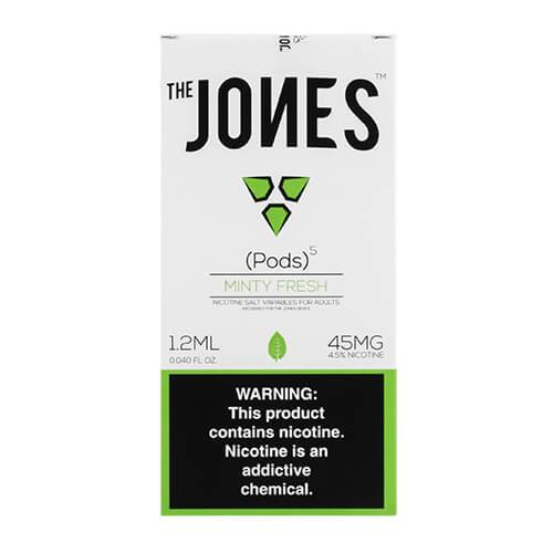 The Jones - Compatible Flavor Pods - Minty Fresh (5 Pack)