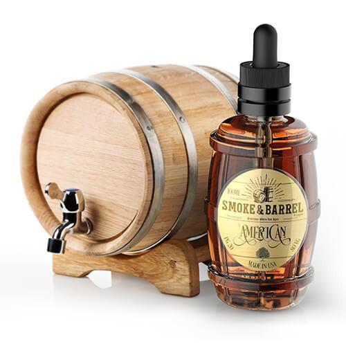 Smoke & Barrel E-Liquid - American