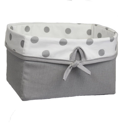 Chevron Grey (Dots) | Basket