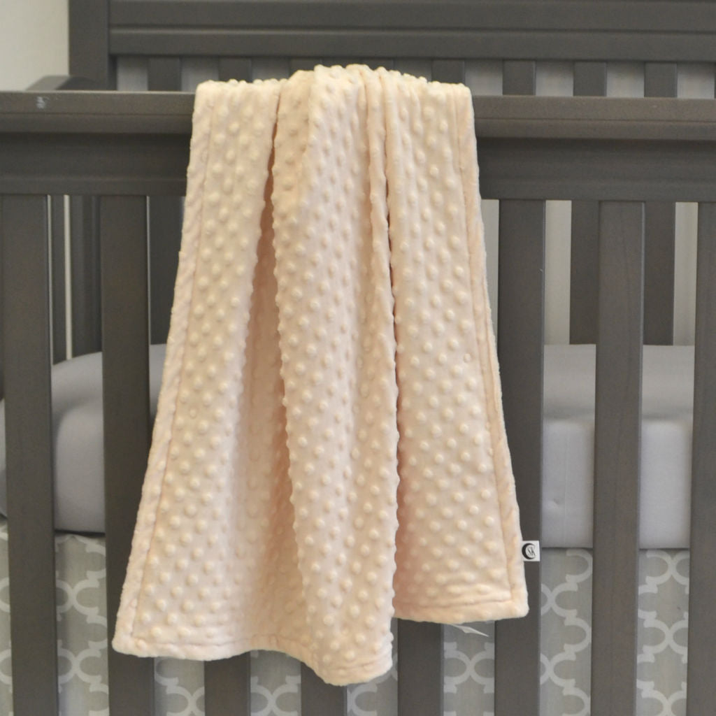 Plush Baby | Butterscotch | Baby Blanket