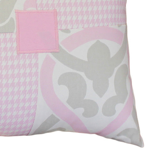 PINK JULEP Patch Decor Nursery Pillow