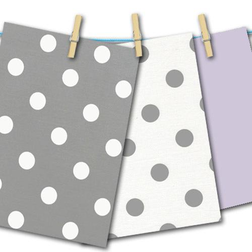 polka dot grey and white free fabric swatches