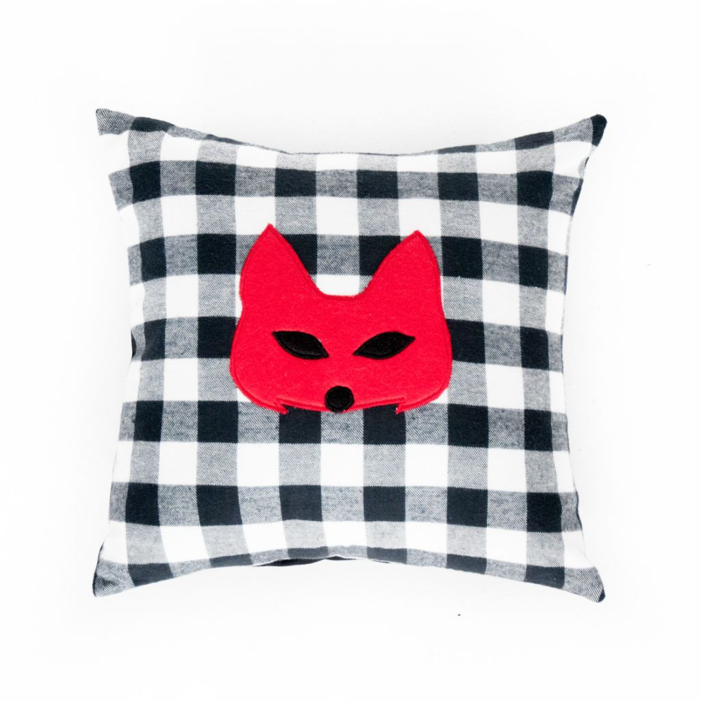 room bedrooms fox and pillow pinterest wilko home pin cushion foxes
