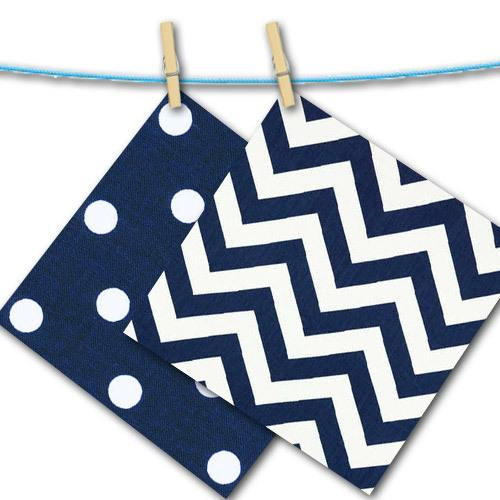 navy and white zig zag and dot free swatches