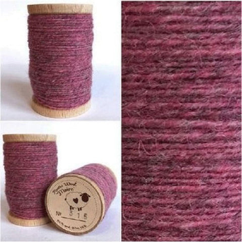 Rustic Moire Wool Thread #315 for Embroidery, Wool Applique and Punch Needle Embroidery