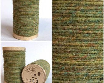 Rustic Moire Wool Thread #403