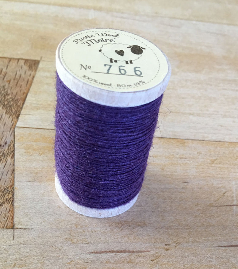 Rustic Moire Wool Thread #766