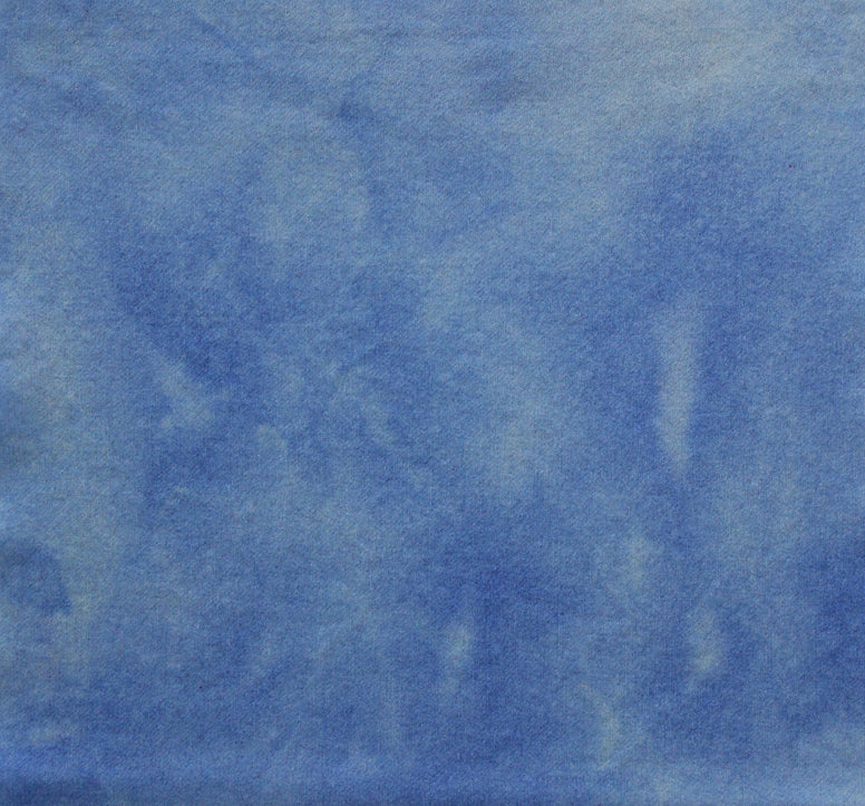 ALPINE BLUE Hand Dyed Wool Fabric