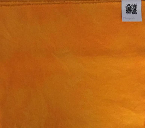 MARIGOLD Hand Dyed Wool Fabric