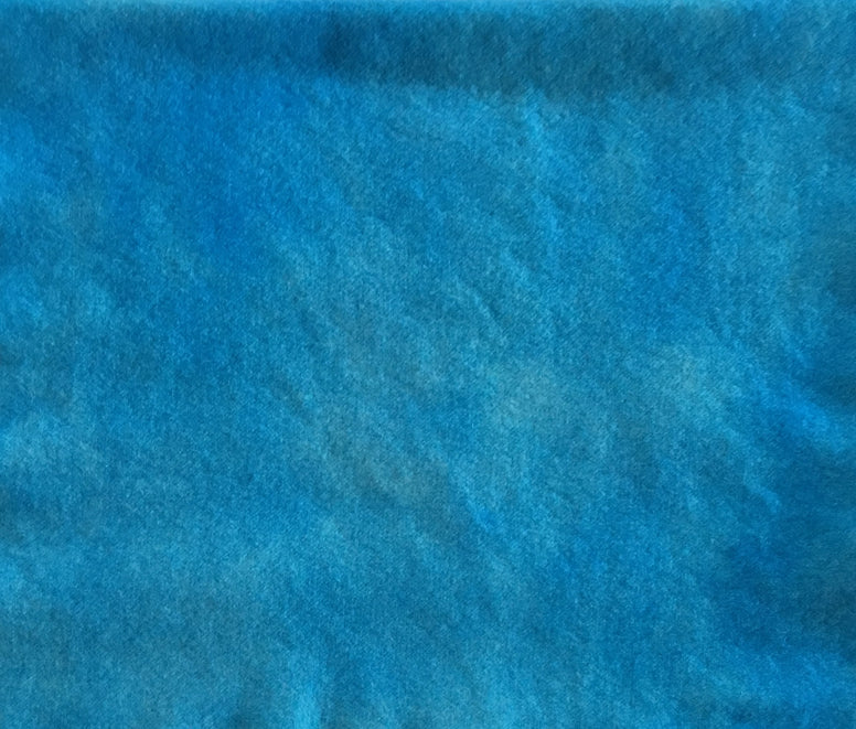 SKY BLUE Hand Dyed Wool for Rug Hooking and Wool Applique