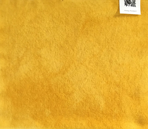 HONEY MUSTARD Hand Dyed Wool for Rug Hooking, Rug Braiding, Wool Applique and Fabric Art