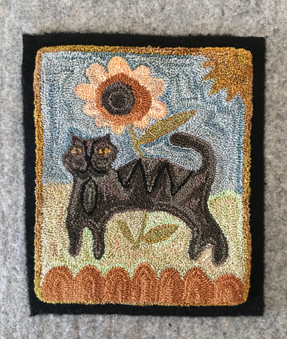 The Black Cat Digital Pattern