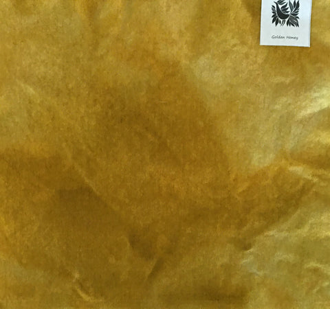 GOLDEN HONEY Hand Dyed Wool for Rug Hooking and Wool Applique