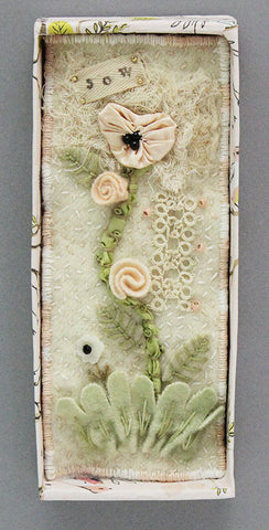SHADOWBOX,  Wool Applique Wall Hanging Kit