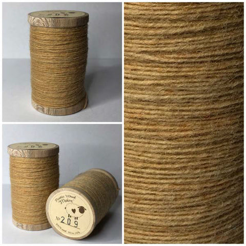 Rustic Moire Wool Thread #209