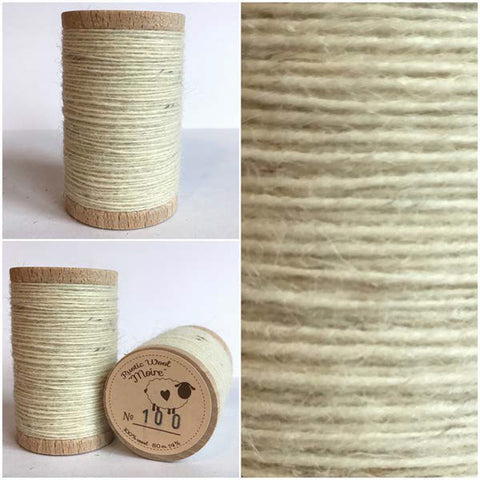 Rustic Moire Wool Thread #100